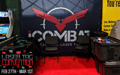 iCOMBAT At The Laser Tag Convention!