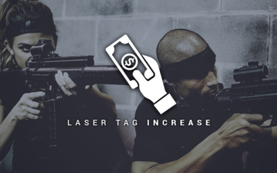 Laser Tag is Increasing in Popularity!