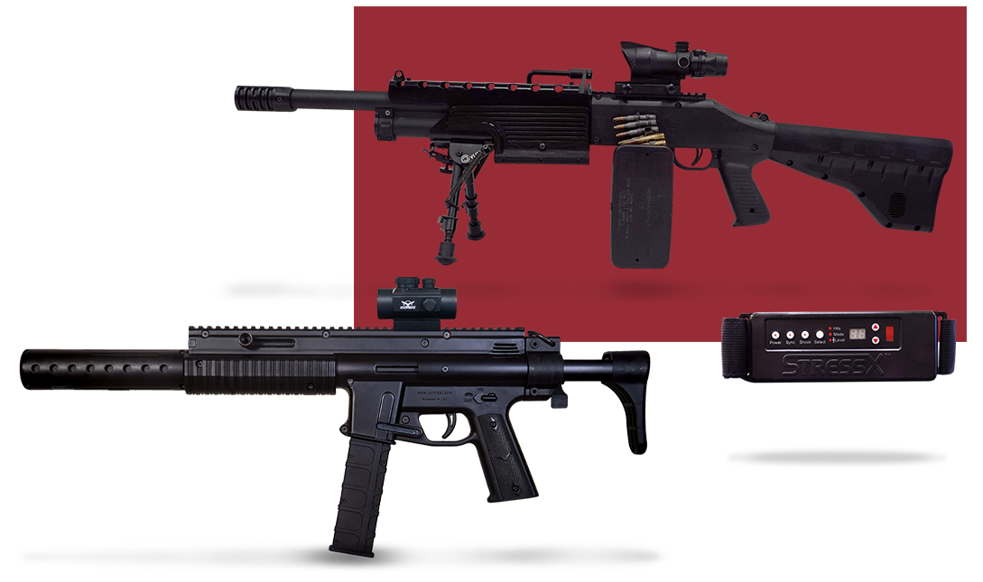 Tactical Laser Tag Equipment