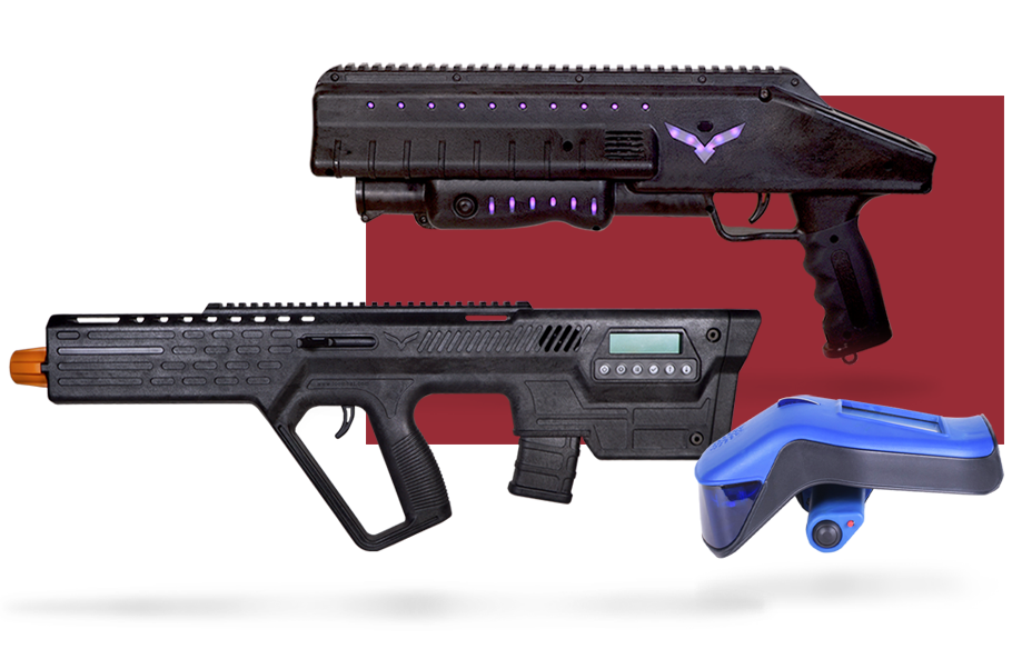 Traditional Laser Tag Equipment